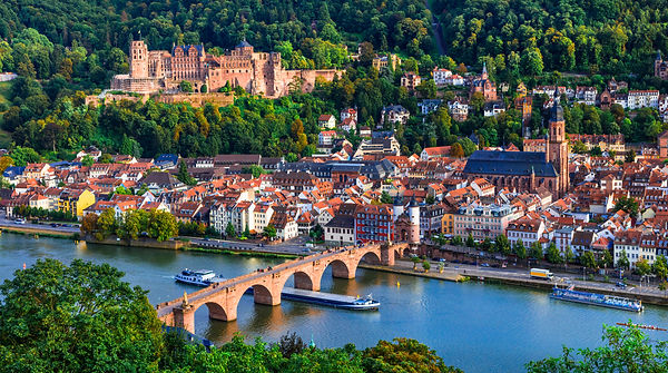 Landmarks and beautiful towns of Germany