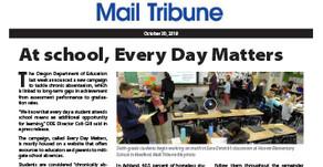 MAIL TRIBUNE: Oregon Department of Education