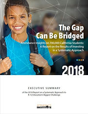 The Gap Can Be Bridged: Attendance Report