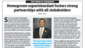 EAST CENTRAL ISD: Roland Toscano