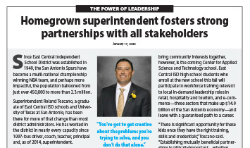 East Central ISD - Superintendent Toscano