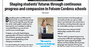 FOLSOM CORDOVA USD: Dr. Sarah Koligian