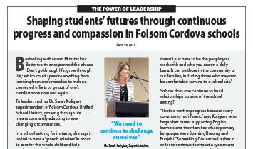 Folsom-Cordova USD - Superintendent Koligian