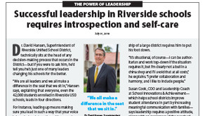 RIVERSIDE USD: Dr. David Hansen