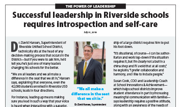 Riverside USD - Superintendent Hansen