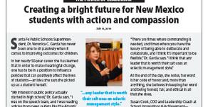 SANTA FE PUBLIC SCHOOLS: Dr. Veronica Garcia