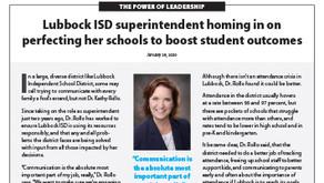 LUBBOCK ISD: Dr. Kathy Rollo