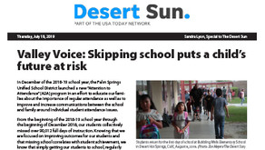 DESERT SUN: Palm Springs USD
