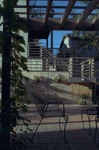 View to deck and stair