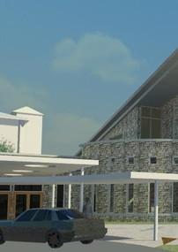 Chapel-West Elevation