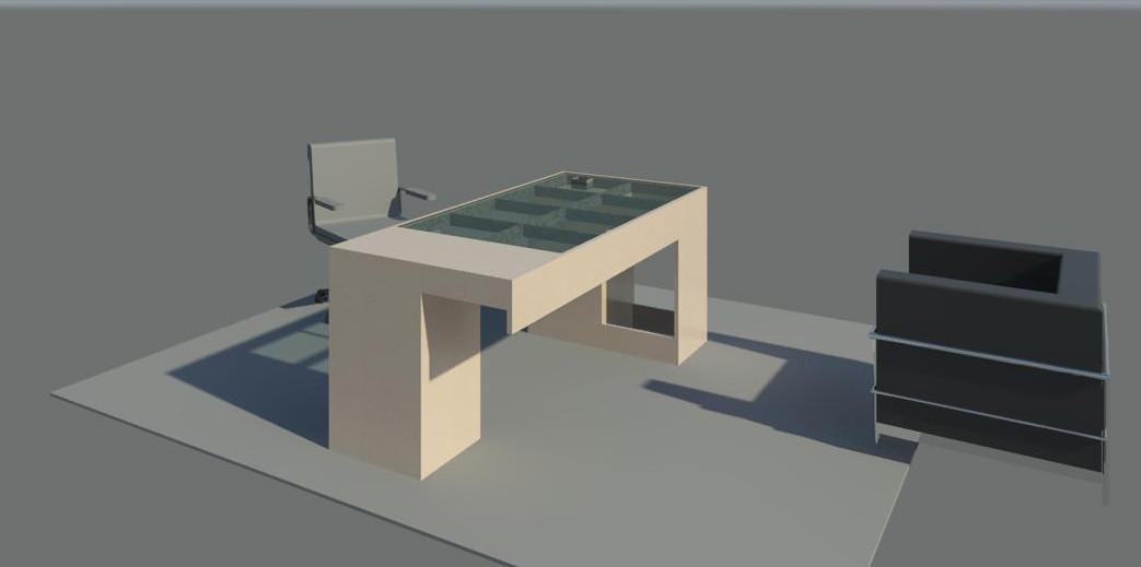 Moment Desk model