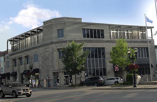 Bank third floor addition