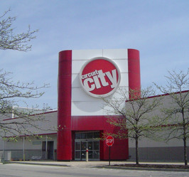 ExistingCircuit City facade