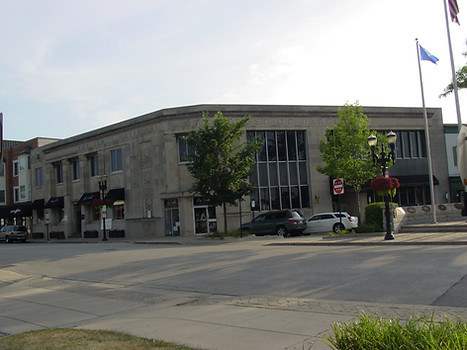 Existing bank building
