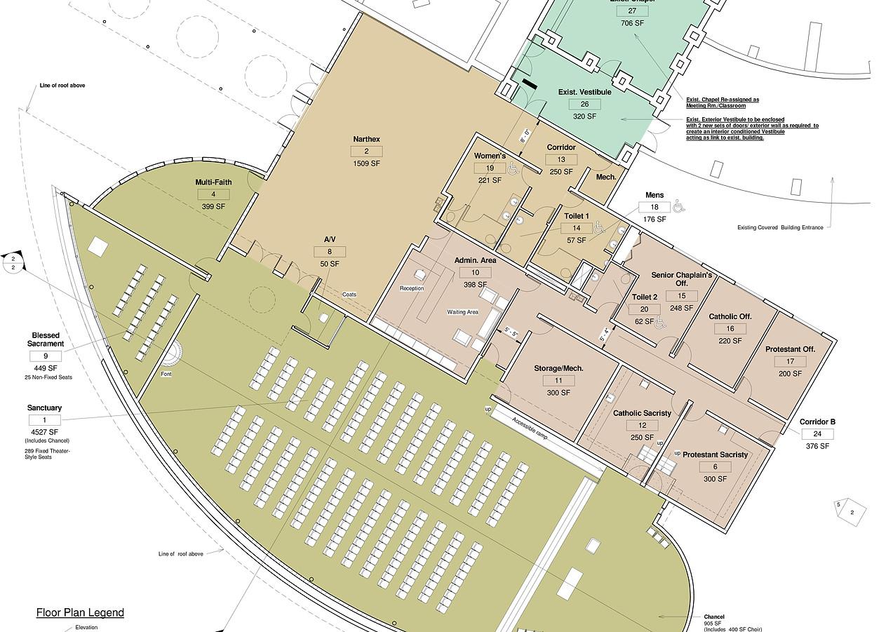 Chapel-Floor Plan
