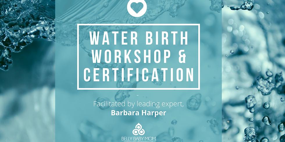 WATER BIRTH WORKSHOP & CERTIFICATION WITH EXPERT BARBARA HARPER