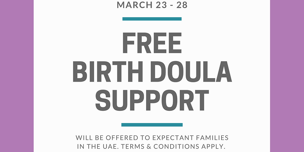 FREE Birth Doula Support Application