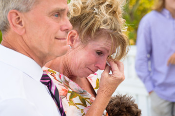 The Mother of the Bride getting a bit teary