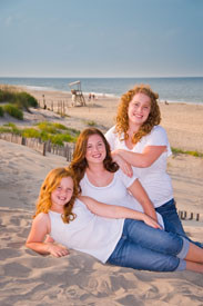 PM Sisters on the beach
