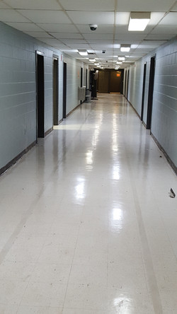JANITORIAL CLEANUP AND WRAP