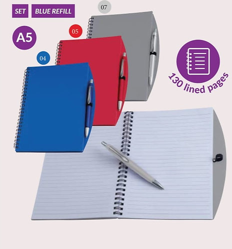 Notes A5 z długopisem TILBURG