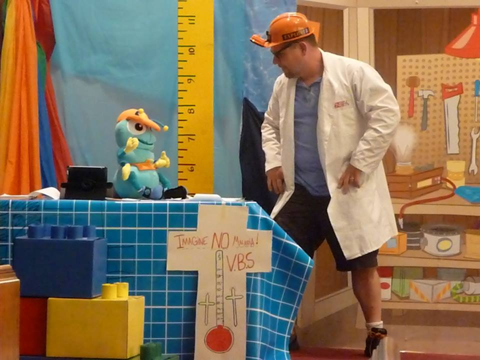 VBS Fun on Day One