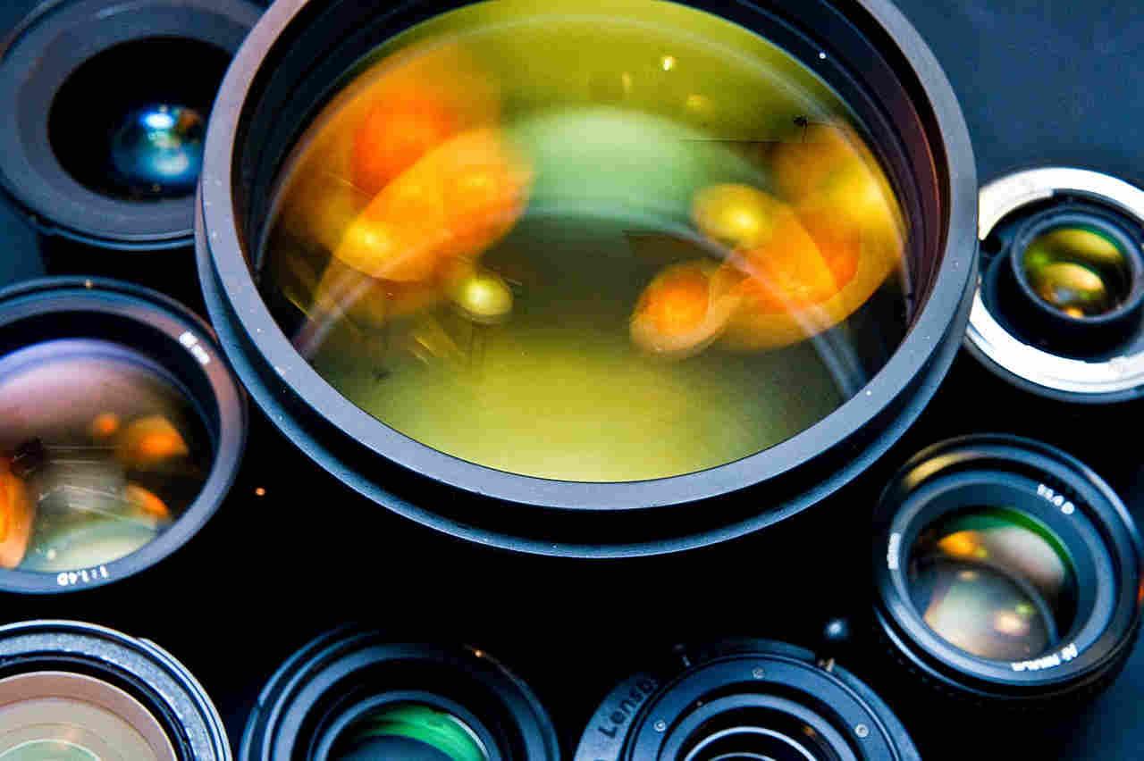 Sensor lenses