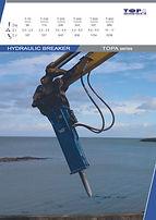 hydraulic breaker, T-900 TOPA
