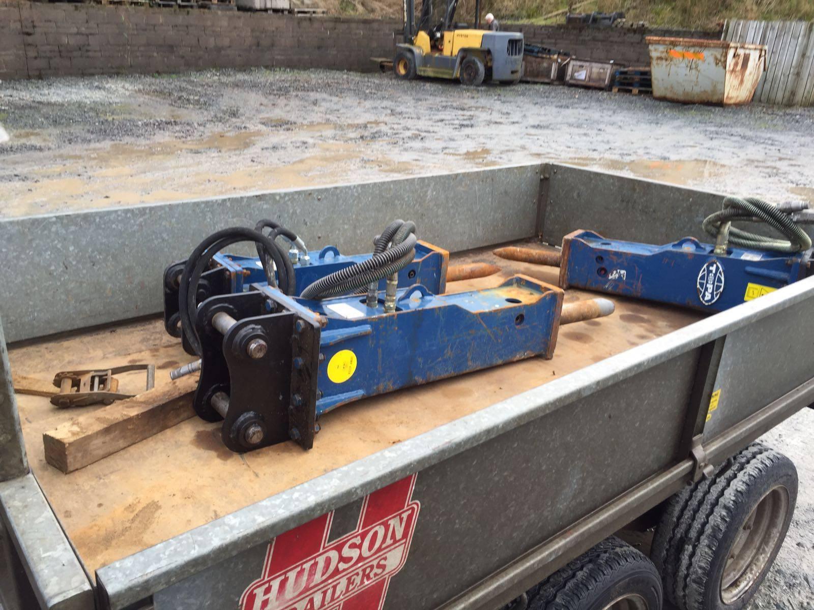 TOPA Hydraulic Breakers