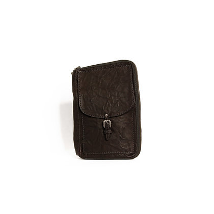 Ipad Cover - Antique Silver - Chocolate