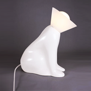Pawly Sculpted Dog Lamp