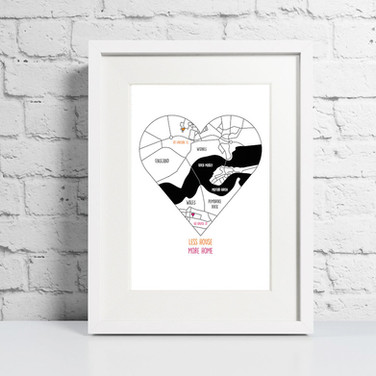 Customisable New Home Print