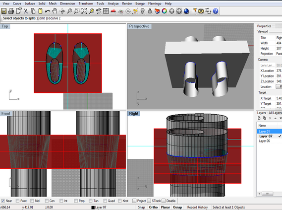 CAD modelling the forms