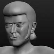 Alvin Stardust Digital Sculpture