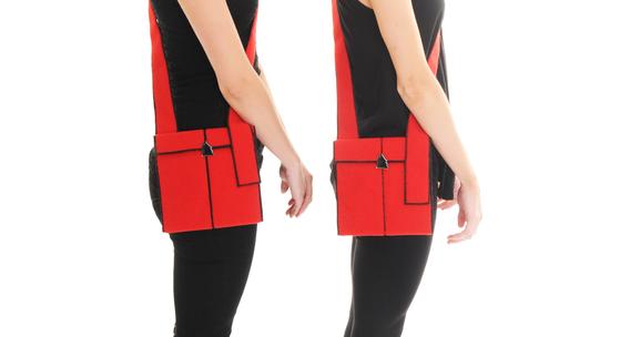 Bag being modelled