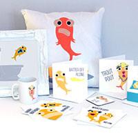 Blank Fish Giftware
