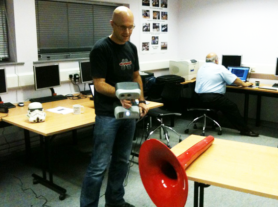 Spierre prototype 3D scanning