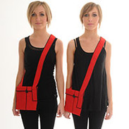 Biennial Velcro Bags
