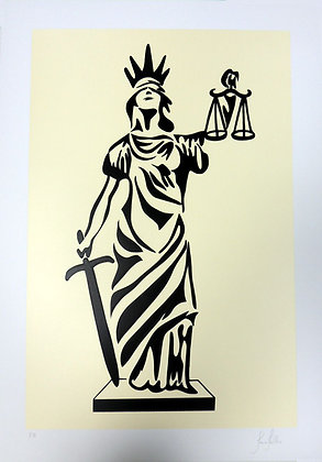 Deusa da Justiça - Bege