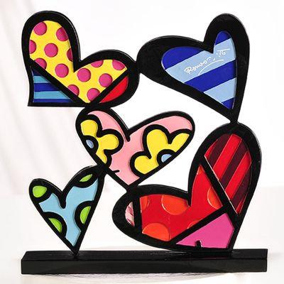HEART FLG.W/BASE