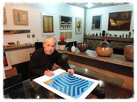 Viva Arte Brasil, Wakabayashi autenticando serigrafias