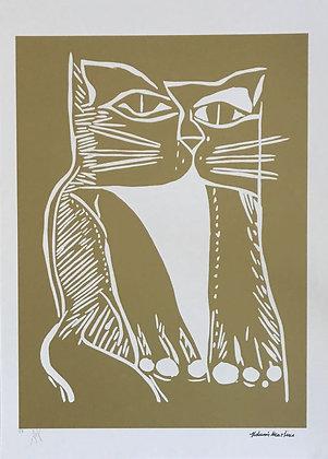 Gato Xilo Dourado