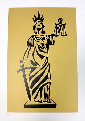 Deusa da Justiça - Ouro