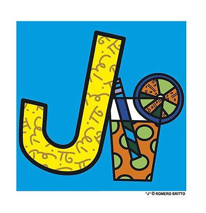 Mini Print Alfabeto - J