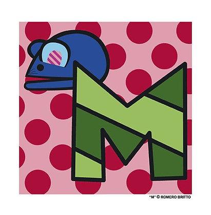 Mini Print Alfabeto - M