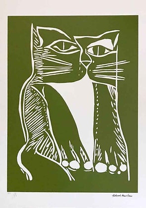 Gato Xilo Verde