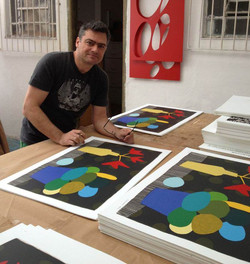 Pinturas_Famosas_Osmar_Beneson_assinando