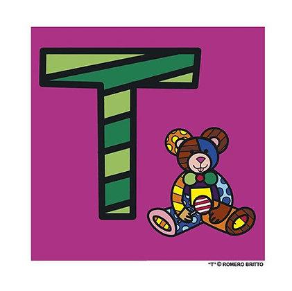Mini Print Alfabeto - T