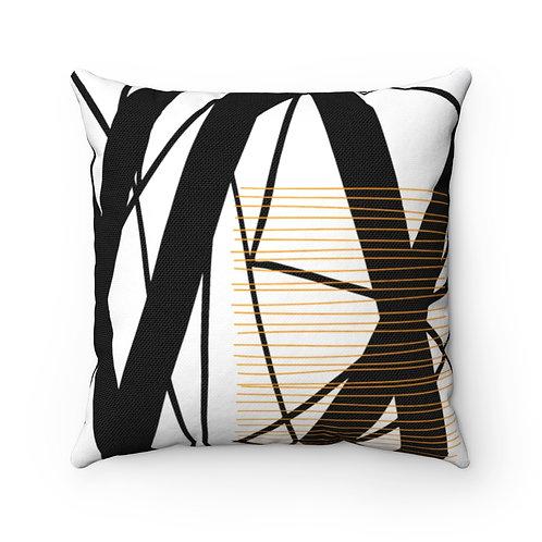 """Conquering My Shadow Shelf"" Designer Throw Pillow"
