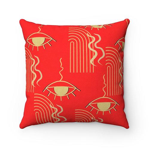 """""""Cup O' Zen"""" Designer Throw Pillow"""